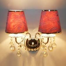 Two Light Wall Sconce Fashion Style Lamps Crystal Lights Takeluckhome Com