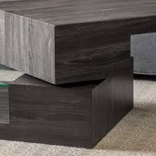Plywood Coffee Table Delwood Coffee Table Reviews Allmodern