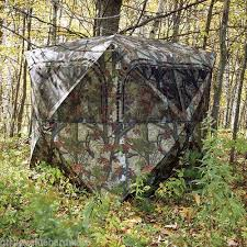 Ground Blinds For Deer Hunting Deer Blind Ebay