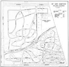 Map Of San Diego Ca Calvary Cemetery San Diego Ca