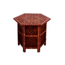 bone inlay moroccan table large moroccan style table