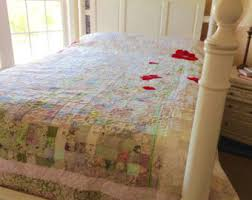 wedding gift quilt couples quilt etsy
