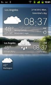 clock and weather widgets for android go weather widget for android free and software reviews