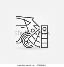 auto paint colors selection icon vector stock vector 538727845