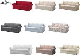 ikea canape ektorp ikea ektorp cover three seat sofa in various colours sofa not