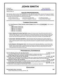 Free Sales Resume Templates Professional Resume Template 59 Best Best Sales Resume Templates