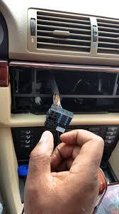 aftermarket radio install 525i e39 wiring harness youtube