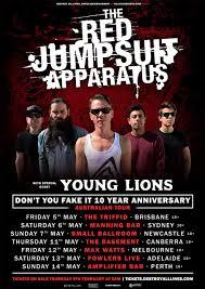 jumpsuit apparatus tour the jumpsuit apparatus announce 2017 australian tour dates