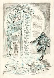the spirit by will eisner comic book typography pinterest