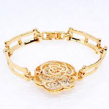 bracelet jewelry designs images W247 rose flower women bangles bracelets luxury bracelet jewelry jpg