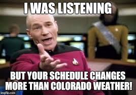 Colorado Weather Meme - picard wtf meme imgflip