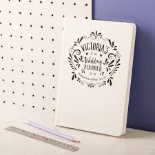 wedding planner notebook personalised wedding planner notebook oakdenedesigns
