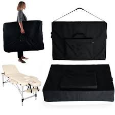 massage table carry bag portabe nylon carry bag case for massage table therapy couch reiki