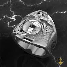 marine wedding rings usmc the marine s sterling silver ega ring