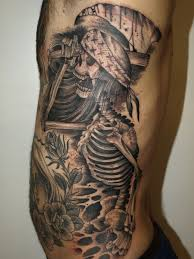 50 skeleton tattoos meanings photos designs for men and women