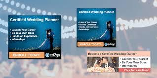 certified wedding planner certified wedding planner web banners