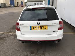 used skoda octavia vrs manual cars for sale motors co uk