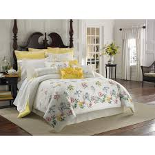 Blue Yellow Comforter Yellow Bedspreads And Comforters Ballkleiderat Decoration