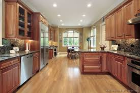 what color wood floor looks with cherry cabinets best kitchen flooring materials options for remodeling