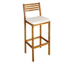 taburete madera taburete de madera de acacia c縺diz ref 15962303 leroy merlin