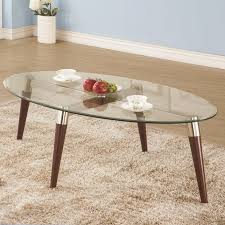 home decorators coffee table breathtaking oval translucent glass coffee table with cylindrical