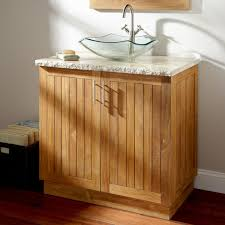 Teak Bathroom Cabinet 36