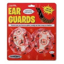 Shower Spider Meme - ear guards archie mcphee co