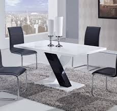 Dining Room Furniture Usa Global Furniture Usa 490 Dining Table White High Gloss Mdf