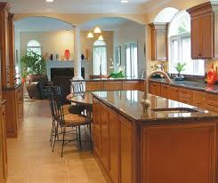 maple kitchen islands glazed maple kitchen cabinets homecrest cabinetry