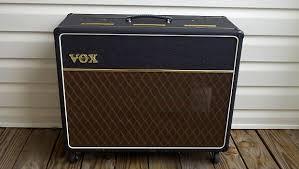 vox ac30 2x12 extension cabinet vox 2x12 custom speaker cabinet ac30 cab black tolex reverb