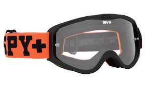 tinted motocross goggles cadet motocross goggles spy optic