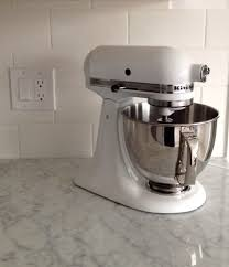 Kitchenaid Artisan Mixer by In The Kitchen The Kitchenaid Artisan Stand Mixerwhite Cabana
