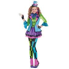 fancy dress girls age 12 14 yeras sassy mad hatter costume ebay