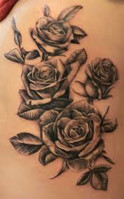 flowers on thigh roses tattoed on thigh by blackravenswe on deviantart