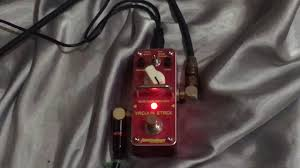 review tomsline vacum stack overdrive mini pedal guitar youtube