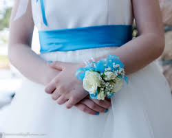 Turquoise Corsage Wedding Corsages Vickies Flowers Brighton Colorado Florist