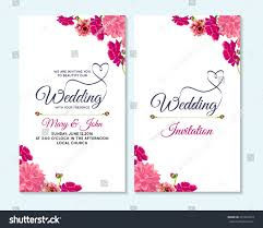 Baby Shower Invitations And Thank You Cards Wedding Invitation Thank You Card Save Stock Vector 391072813