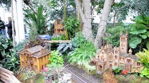 holiday train show at ny botanical garden 2016 youtube