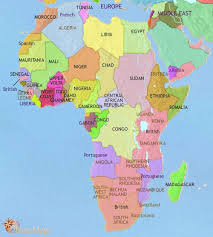 the map of africa map of africa at 3500bc timemaps