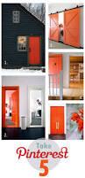 pinterest take 5 orange front door mirror mirror
