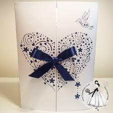 wedding invitations belfast laser cut heart paper wedding invitations