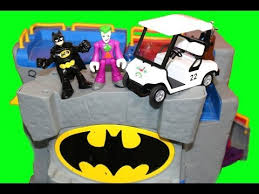 batman batcave imaginext joker dc super friends batman motorcycle