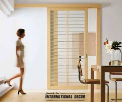 stunning modern sliding glass door window treatments on interior