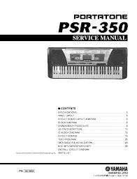 yamaha psr 350 sm service manual download schematics eeprom
