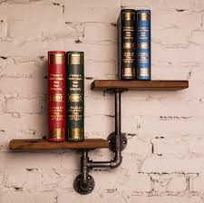 american country retro industrial pipes iron shelves metal pipe
