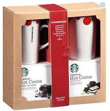 hot cocoa gift set walmart 4 starbucks mug gift set 11 98 free in store