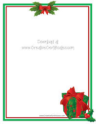 free christmas border templates microsoft word free printable