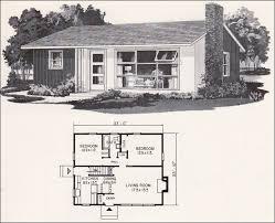 Mid Century Modern Tiny House Retro Mid Century Modern Plan Weyerhauser Design No 4158