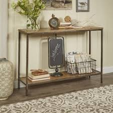 entry way table console sofa and entryway tables you ll love wayfair