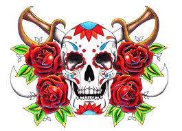 tribal tattoos with roses designs old tattoos design with skull and rose flowers tattoos